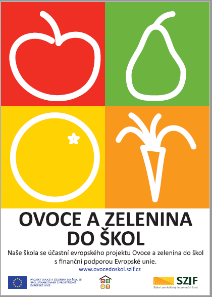 o plakat ovoce do skol